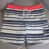 J. Crew Swim | J. Crew Swim Shorts, Size 35 | Color: Blue/Red | Size: Waist 35