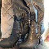 Nine West Shoes   Black Heel Knee Boots   Color: Black   Size: 9