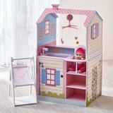 Olivia's Little World Baby Nursery Doll House Manufactured Wood in Pink, Size 40.25 H x 21.0 W x 34.0 D in   Wayfair TD-11460A