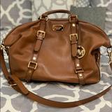 Michael Kors Bags | 100% Authentic Michael Kors Satchel Bag | Color: Tan | Size: Os