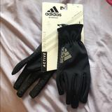 Adidas Other | Adidas Black Gloves | Color: Black | Size: Os