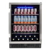 """Danby SBC057D1BSS 24"""" One Section Wine Cooler w/ (1) Zone - 11 Bottle Capacity, 115v"""