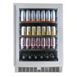 "Danby SPRBC056D1SS 24"" One Section Wine Cooler w/ (1) Zone - 6 Bottle Capacity, 115v"