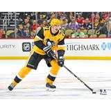 """Evgeni Malkin Pittsburgh Penguins Unsigned Alternate Jersey Skating Photograph"""