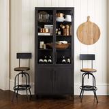 Trucco Glass Door Cabinet - Ballard Designs
