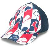 Rooster-print Baseball Cap - Blue - Rossignol Hats