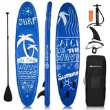 Costway Inflatable & Adjustable Stand Up Paddle Board-L
