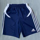 Adidas Bottoms | Adidas Soccer Uniform Shorts | Color: Blue/White | Size: Unisex Kids L