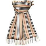 Check - Natural - Burberry Scarves