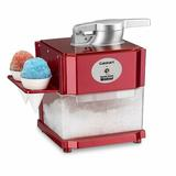 Cuisinart Snow Cone Maker in Red, Size 12.0 H x 9.25 W x 9.0 D in   Wayfair SCM-10P1