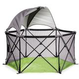 Summer Infant 4' x 4' Indoor/Outdoor Nylon Pop-Up Play Tent, Nylon in Gray/Black, Size Medium (3' - 5') | Wayfair 27490A