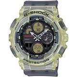 Casio G-Shock x Mischief Men's GMAS140MC-1A Analog-Digital Watch Black/Clear