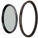 B + W Circular Polarizer Kaesemann - Xtra Slim Mount (XS-PRO), HTC, 67 mm & 67mm UV Protection Filter (010) for Camera Lens - Xtra Slim Mount (XS-PRO), Photography Filter, 67 mm, Clear Protector
