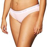 Calvin Klein Women's CK One Cotton Bikini Panty, Nymph's Thigh, XS