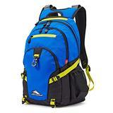 High Sierra Loop Backpack, 19 x 13.5 x 8.5-Inch, Vivid Blue/Glow