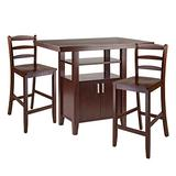 Winsome Albany Dining Set, Walnut