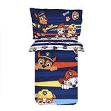 PAW Patrol Toddler Bedding Set for Kid's with Reversible Comforter, Fitted Sheet and a Standard Pillowcase- 3pieces