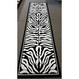 New Zebra Print Rug Contemporary Area Rugs 2x8 Zebra Rugs Long Hallway Rugs Zebra Rugs Runner (2'x8' Hallway Runner)