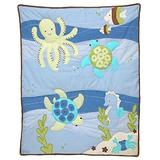 NoJo - Sea Babies Applique Baby Crib Comforter only - Seahorse - Octopus TurtleHard to find
