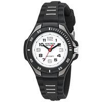 Armitron Sport Women's 25/6433BLK Easy to Read Black Silicone Strap Watch