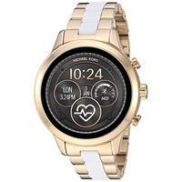 Michael Kors Access Womens Runway Touchscreen Smartwatch Stainless Steel Bracelet watch, Two tone Go