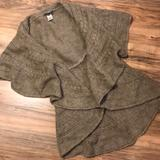 Anthropologie Sweaters   Anthropologie Renees Nyc Cable Sweater Vest   Color: Brown/Tan   Size: S