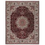 The Rug Truck - Persian Treasures Shah Red Area Rug (8' x 10')   Turkish Area Rug   Living Room Rug   Persian-Style Area Rugs
