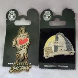 Disney Other | 2006 Disney Pirates Of The Caribbean Pin | Color: Black | Size: Os