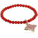 Alex and Ani Chakra Stretch Bracelet Gold/Root Chakra One Size (A19STHOL27SG)