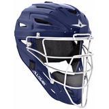All Star Solid MVP2500 Adult Baseball Catcher's Helmet Navy