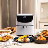 Cosori 3.7 Liter Premium Air Fryer Plastic in White, Size 12.2 H x 10.9 W x 10.8 D in | Wayfair CP137-AF-RXW