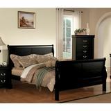 Alcott Hill® Smithwick Sleigh Bed in White/Black, Size 62.0 W x 90.0 D in   Wayfair B2FF36EDC4E7423DADFF61D2755A0907