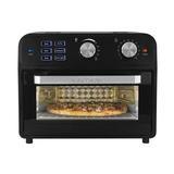 Kalorik 21 Liter Digital Air Fryer Oven Stainless Steel in Black/Gray, Size 13.11 H x 15.16 W x 16.14 D in | Wayfair AFO 46110 BK