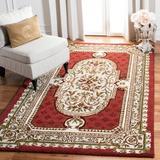 Fleur De Lis Living Alger Oriental Hand Braided Wool Brown/Area Rug Wool in Green, Size 27.0 W x 0.63 D in | Wayfair CL755A-24
