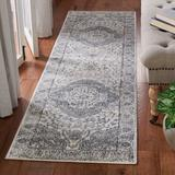 Martha Stewart Rugs Oregon Eight Hundred Sixty Seven Area Rug In Ivory/Grey Polypropylene in White, Size 96.0 H x 26.0 W x 0.35 D in   Wayfair