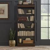 "Alcott Hill® Riverdale 30"" W Standard Bookcase Wood in Brown, Size 72.0 H x 30.0 W x 12.5 D in   Wayfair 54BD247D367B4E14AA35347B8DDAD5A8"