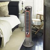 Lasko Oscillating Tower Fan in Gray/Brown, Size 42.5 H x 13.0 W x 13.0 D in | Wayfair T42954
