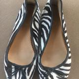 J. Crew Shoes   Animal Print Ballet Flat   Color: Brown/Cream   Size: 2bb