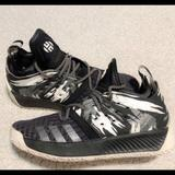 Adidas Shoes   Adidas Harden Vol. 2 Basketball Shoes.   Color: Black/White   Size: Youth: 6 = Women Size: 7.5
