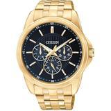Men's Gold-tone Stainless Steel Bracelet Watch 42mm Ag8342-52l - Metallic - Citizen Watches