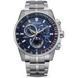 Eco - Drive Pcat Chronograph - Metallic - Citizen Watches