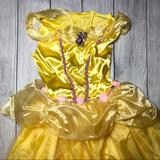 Disney Costumes | Belle Halloween Costume Pb | Color: Pink/Yellow | Size: Osg