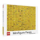 LEGO Minifigure Faces 1000 Piece Jigsaw Puzzle