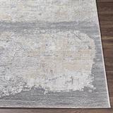 "Kallangur 2'7"" x 4' Modern Light Gray/Charcoal/Cream/Khaki/Navy Area Rug - Hauteloom"