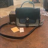 Michael Kors Bags   Authentic Michael Kors Denim And Silver Handbag   Color: Blue/Silver   Size: Os