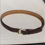 Michael Kors Accessories | 37 Inch Michael Kors Brown Leather Jean Belt. | Color: Brown | Size: 37 Inches