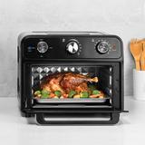 Kalorik 22 Quart Air Fryer Toaster Oven by Kalorik in Black