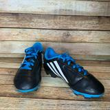 Adidas Shoes | Adidas Boys Conquisto Soccer Cleats B25593 Size 5 | Color: Black/Blue | Size: 5b