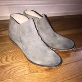Free People Shoes | Grey Ankle Boots | Color: Gray | Size: 6