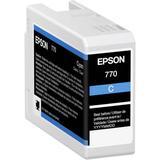 Epson 770 UltraChrome PRO10 Cyan Ink Cartridge (25mL) T770220